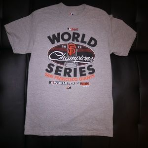 Majestic San Francisco Giants World Series Tee - M